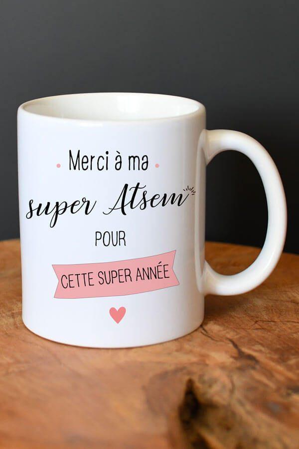 "Mug en céramique ""Ma super atsem"""