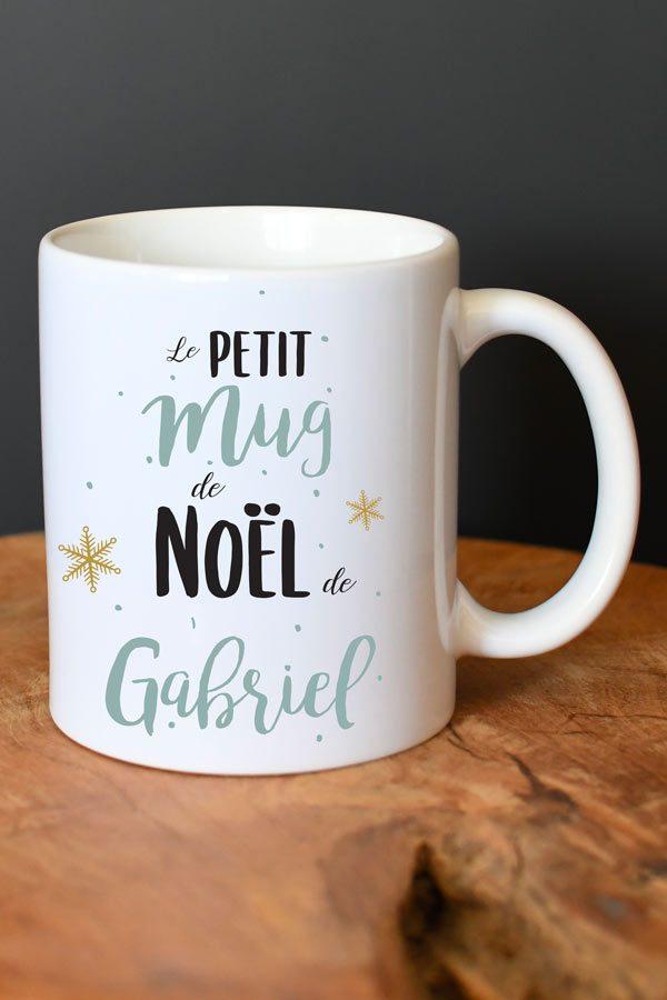 Mug de Noël personnalisé Mon petit Mug