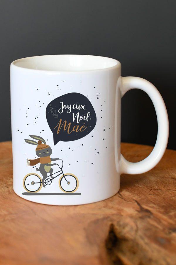 mug personnalisé de Noël